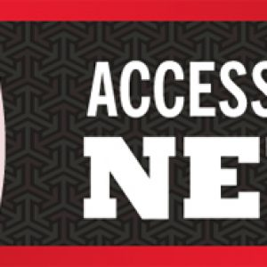 """Image with the words """"Accessibility News"""""""