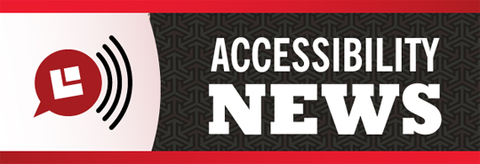 "Image with the words ""Accessibility News"""